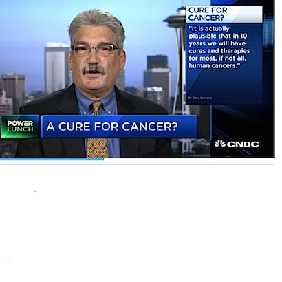 Another prediction of cancer cure in 10 years