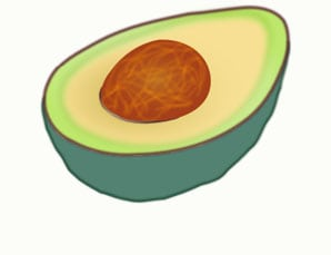 avocado-cholesterol hero