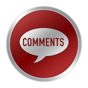 COMMENTS button