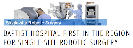 robotic first