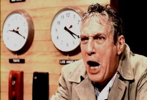 Howard Beale Mad as Hell