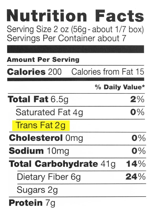 ap story on trans fats ban  strong on sourcing  but left