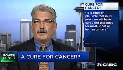 Fred Hutch president predicts cancer cure in 10 years