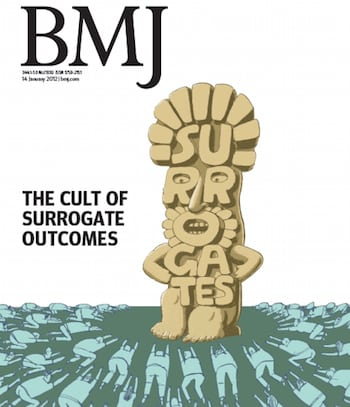 BMJ idolatry of surrogate cover 350x407