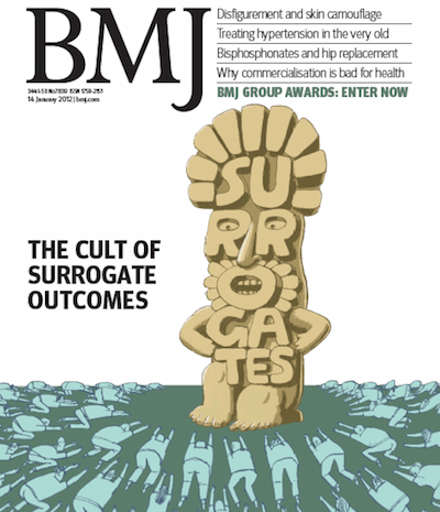 BMJ idolatry of surrogate cover 400x465