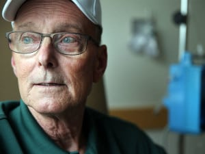 Patient Bill Ludwig is the focus of this story on a leukemia therapy.