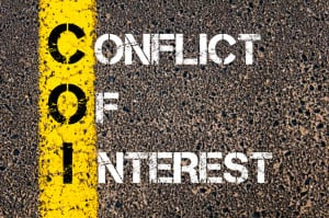 COI as CONFLICT OF INTEREST