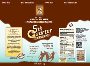 5th Quarter Milk Label