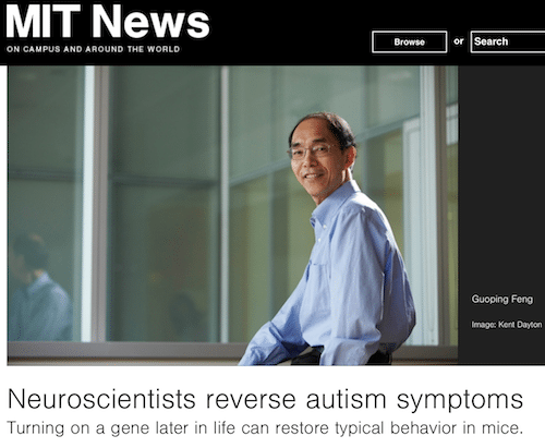 Neuroscientists Reverse Some Autism >> Mit S Misleading Pr Headline On Autism