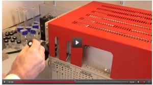 News video screen grab: Prostate cancer screening sensor developed at the University of Liverpool