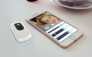 Nicotine delivery system and smartphone app. Image: Chrono Therapeutics