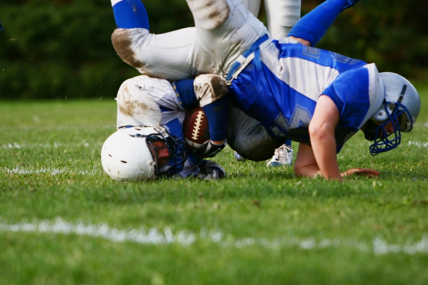 concussion in football