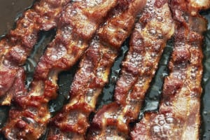 bacon, saturated fat, diet, fats