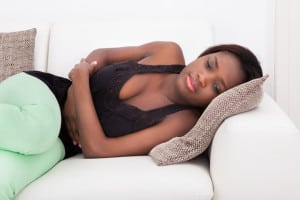 stomach pain and pms pain and menstrual pain