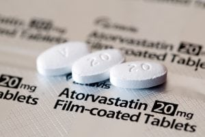 Atorvastatin Tablets Close-up