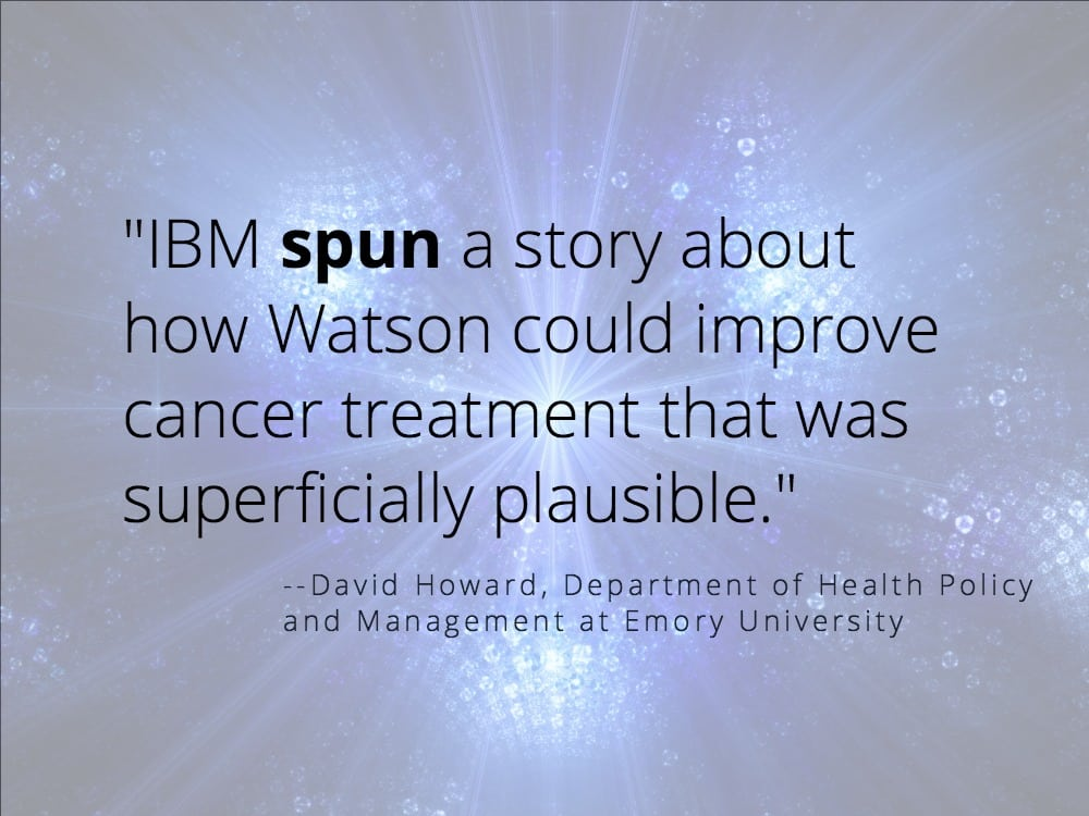 IBM Watson cancer project
