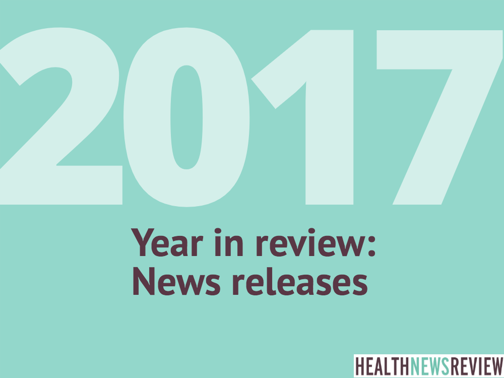 2017 year-ender: Major themes from a year's worth of news release reviews