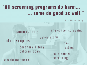 screening how overdiagnosis and other harms can undermine the