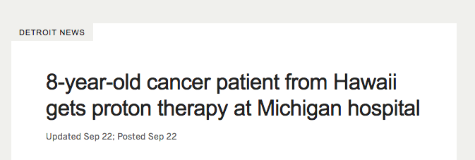 Problematic PR releases: As evidence lags on proton therapy