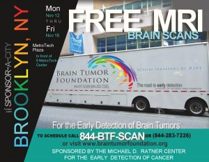 free brain tumor screening