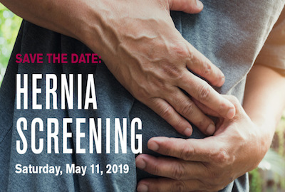 ?s about free hernia screening events