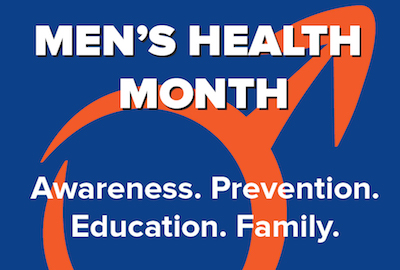 Men's Health Month marketing